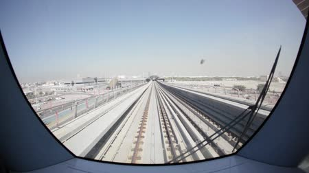 метро : Dubai metro 05 city day rails