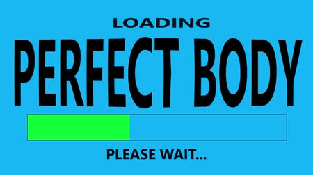 conversa : Progress bar loading with the text: Perfect Body