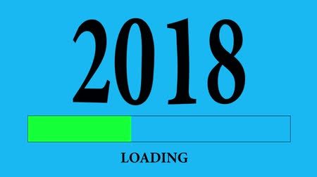 conversa : Progress Bar Loading with the text: 2018 Vídeos