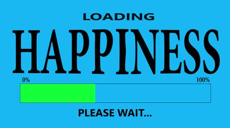 conversa : Progress Bar Loading with the text: loading happiness.