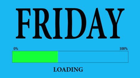conversa : Progress Bar Loading with the text: friday loading