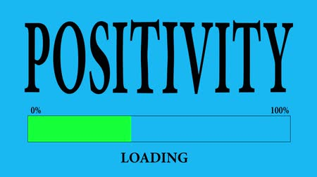 conversa : Progress Bar Loading with the text: positivity loading.
