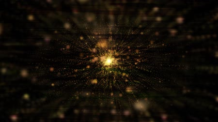 ohňostroj : Abstract gold explosion lines effect lines.