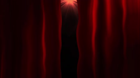blahopřání : Opening flare red curtains animation. Use overlay mode for your product display. Congratulations or invitation background