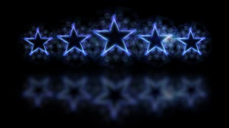 hodnost : Five stars customer product rating review loopable animation. Dostupné videozáznamy