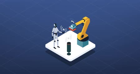 Smart industry, robots and automation: AI and industrial production