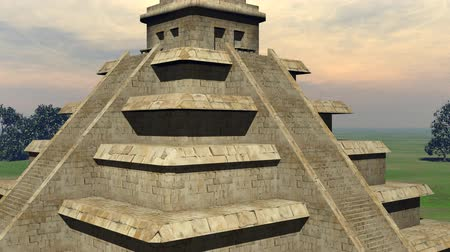 piramit : Maya pyramid - 3D render