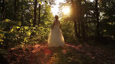 mese : Beauty Princess Fairy Tale Running Forest Young Woman HD