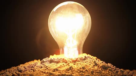 sembol : Electricity Energy Nature Light Bulb Soil Conservation Ecology