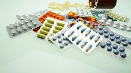 medicamento : Stack of Pills Tablets Pharmacy Concept