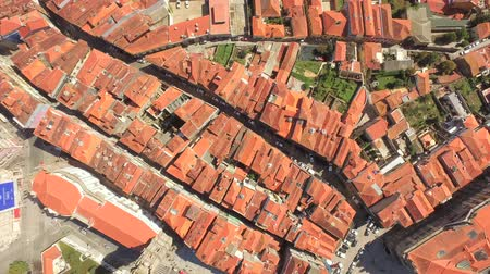 Aerial Church City Roof Architecture Drone Town Europe Tourism Travel House Landmark Residential Famous Tower Portugal Road History