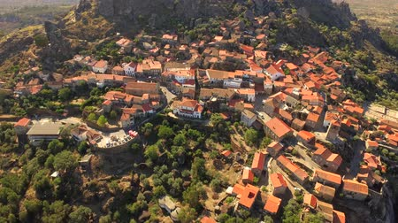 falu : Drone Aerial Portugal Roof City Architecture Cityscape Europe Tourism Travel House Landmark Residential Famous Portugal 4K Crowded