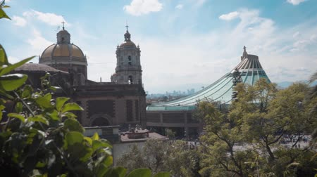meksyk : GUADALUPE CHURCH IN MEXICO Wideo