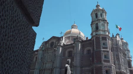 travelling : CHURCH OF THE VIRGIN DE GUADALUPE IN MEXICO