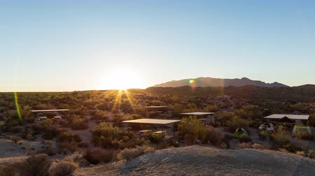 deserto : Joshua Tree National Park, California Sunrise Timelapse