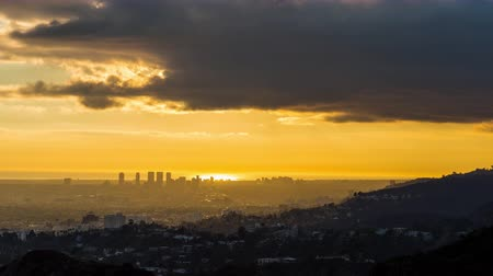 şafak : West Los Angeles, Beverly Hills, Santa Monica Golden Hour Light Timelapse