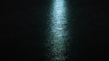 mehtap : a lunar path is in a nightly sea