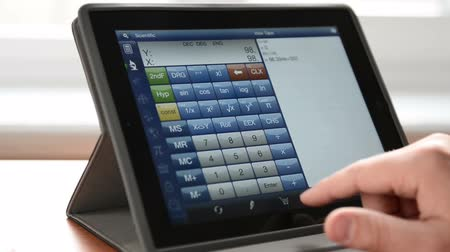 resta : Calculando el equipo Tablet PC