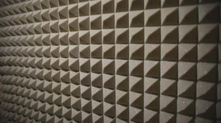 Footage of a sound isolated room in a recording studio...