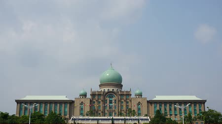 architektura : Malaysian government building in Putrajaya