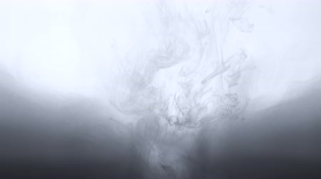 Ink in water abstract background Stok Video