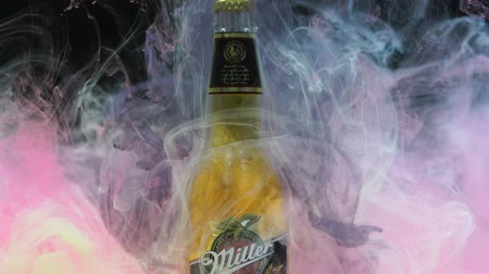 Miller Beer and Ink in Water