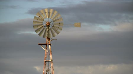 kırsal : Turbine water pump on sky background