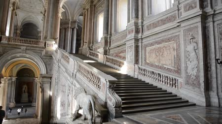 destaque : CASERTA, ITALY- FEBRUARY 16: Caserta Royal Palace called the little Versailles has been featured in the Star Wars movie and is a unesco world heritage site  Vídeos