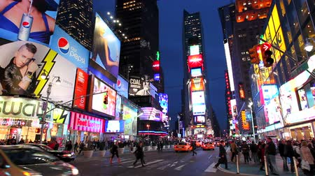sul : NYC Times Square Time Lapse