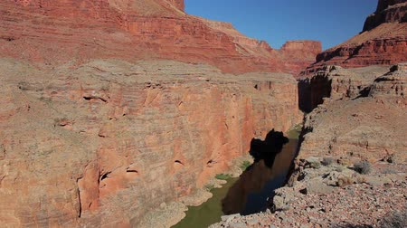 velg : Grand Canyon en de Colorado rivier