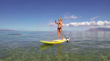 fitnes : Stand Up Paddling in Hawaii