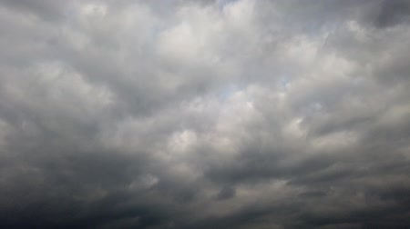 meteorologia : Time lapse of stormy cloudy sky