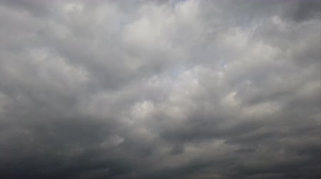 time laps : Time lapse of a overcast cloudy sky Stock Footage