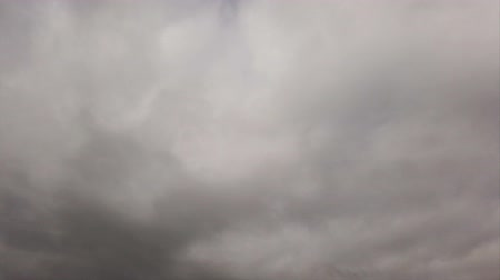 altostratus : Timelapse clouds with blue sky blurred by amorphous clouds rolling in the wind