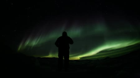 alasca : Northern Lights - shadows theater