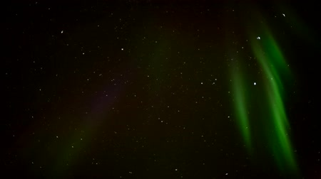 ártico : Northern Lights on the Arctic sky