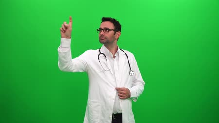 Doctor Searching and Using Touch Screen Vídeos