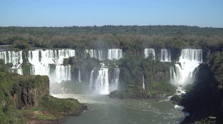 brazil : Iguazu Waterfalls in Brazil