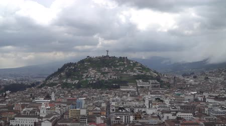 colonial : Historic Center of Quito, Ecuador Stock Footage