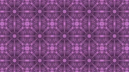 vetor : poly art kaleidoscope purple black flower for VJ Fractal Background