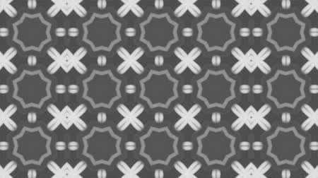 vector : poly art kaleidoscope  grey black dot flower for VJ Fractal Background