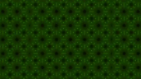 contornos : Poly art Kaleidoscope green for VJ Fractal Background
