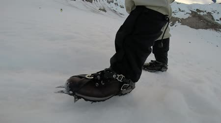 kaland : Walking Climbing on Ice Crampons Hiking Adventure