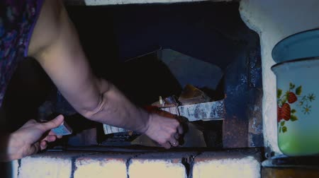 fire arms : Kindling a russian stove