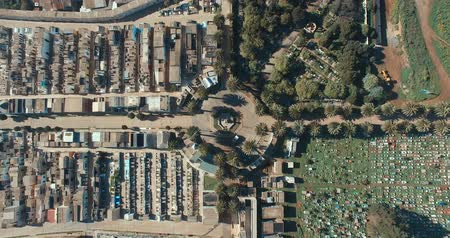 Playa Ancha Cementery, Valparaiso Chile. Aerial View