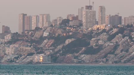 Density of buildings in Renaca, Vina del Mar. Chile