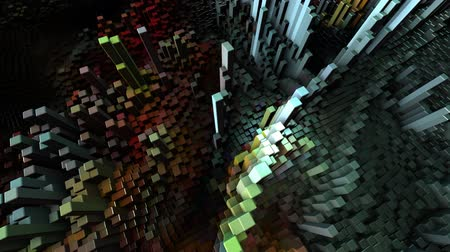 Abstract Cubes Move, Loopable Animation. Seamless Loopable. Dostupné videozáznamy