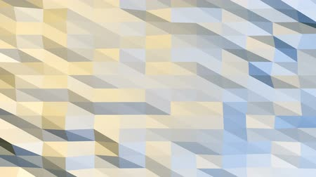 Polygonal Background Loop - Seamless loop of abstract polygonal background. Stock Footage