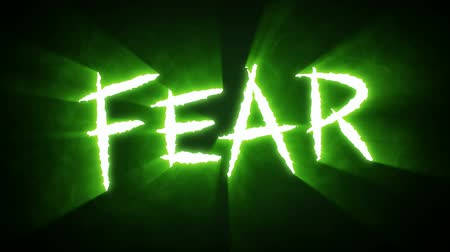 Claw Slashes Fear Green Stock Footage