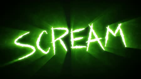 Claw Slashes Scream Green
